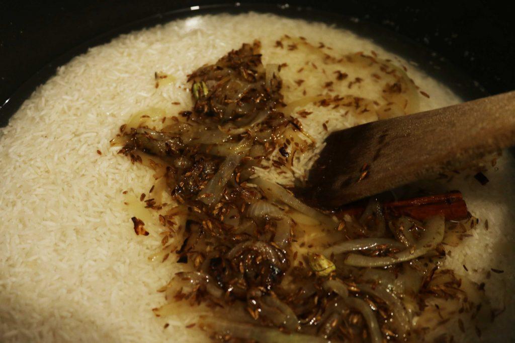 Riz fricassé à la mauricienne