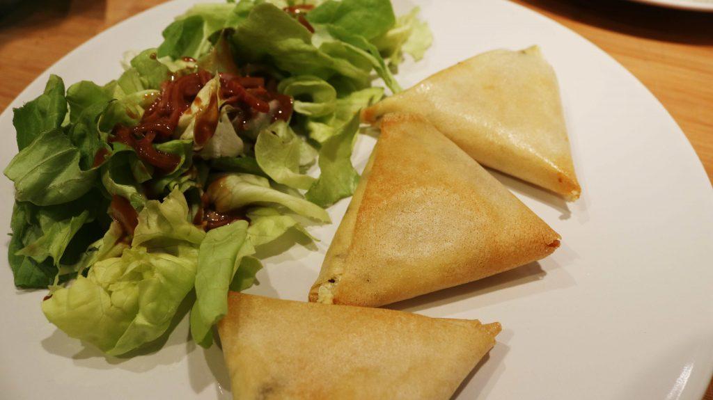 recette samoussas à la feta