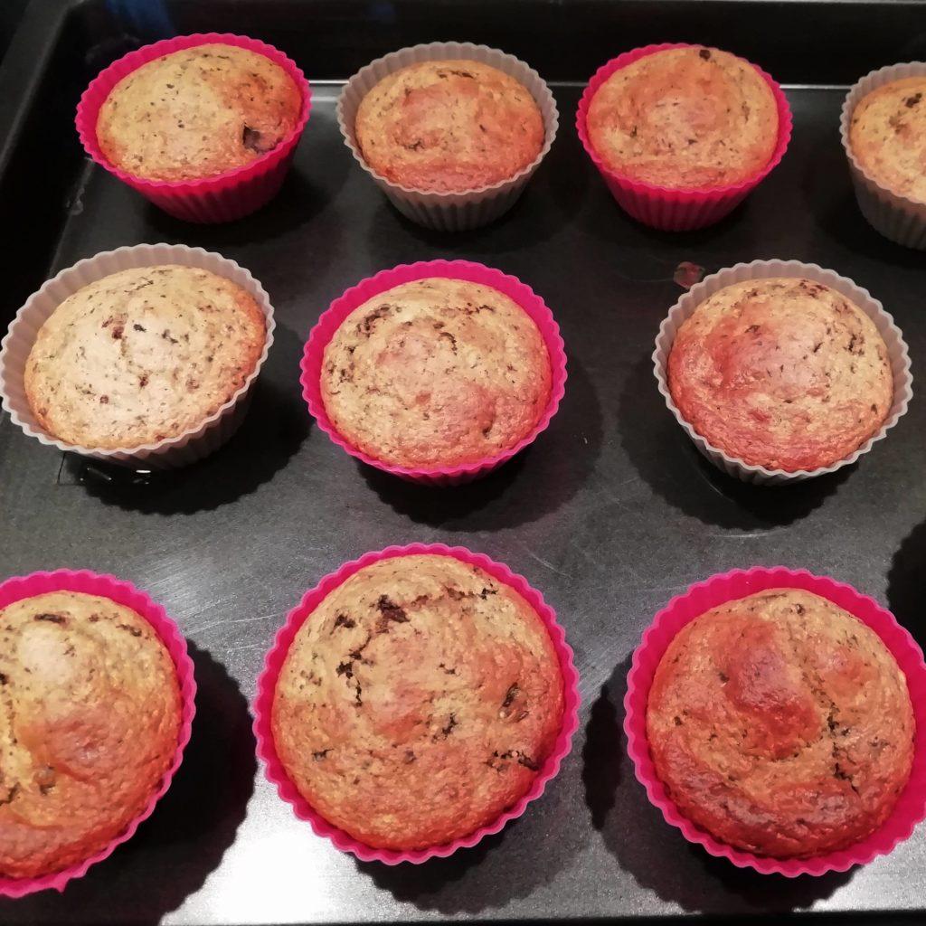 muffins farine d'avoine