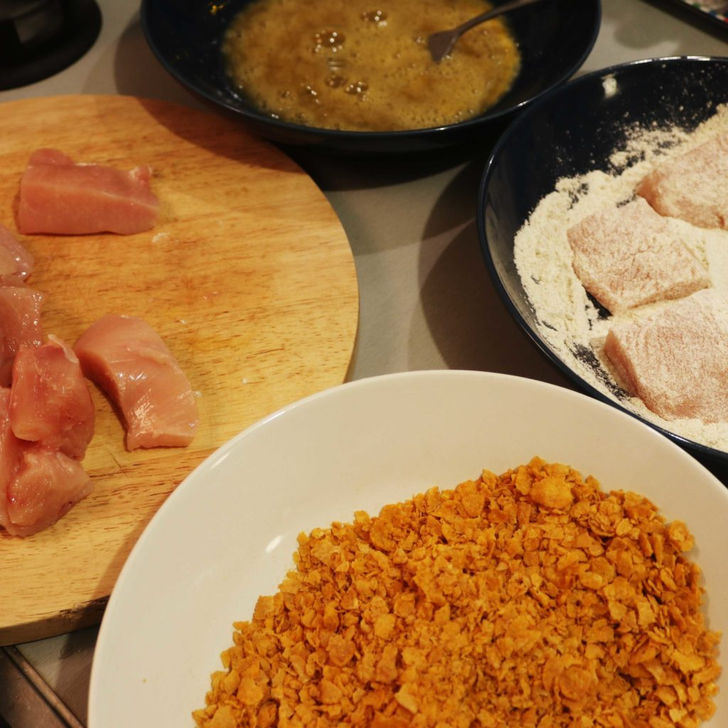 poulet croustillant ingrédients