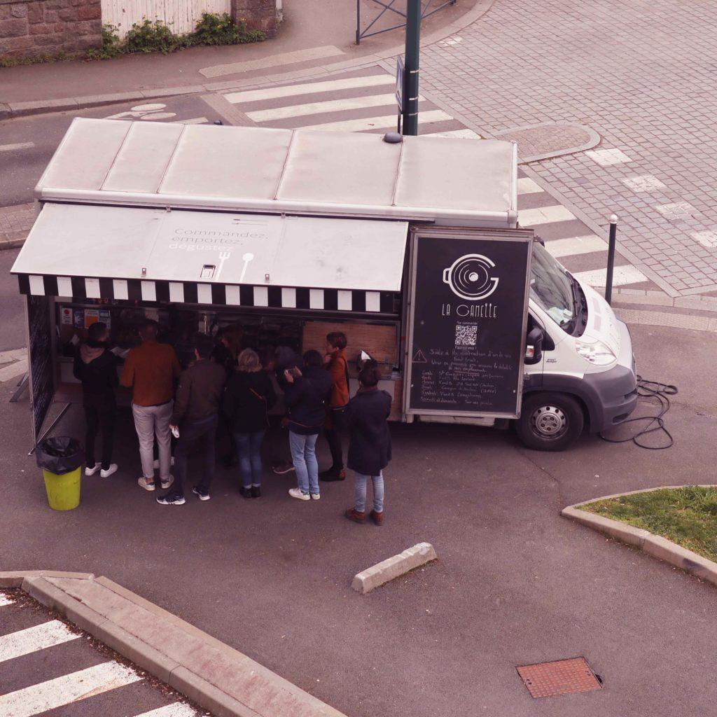 Camion La Gamelle Le Mabilay