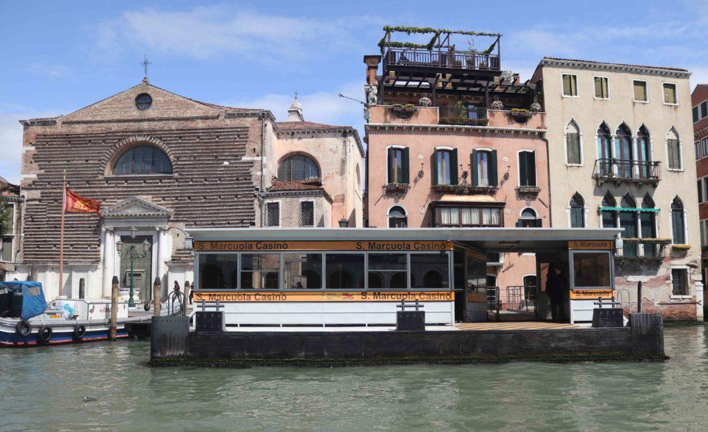 Fermata vaporetto Venise