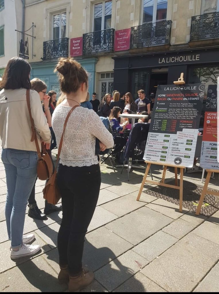 File attente La Lichouille Rennes
