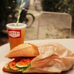 Sandwich végétarien Rennes